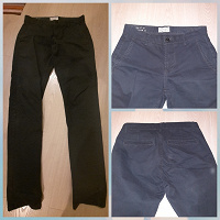Отдается в дар 2 пары отличных мужских брюк, 44-46