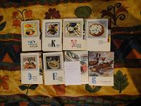 Отдается в дар Серия открыток «Кухня народов мира»