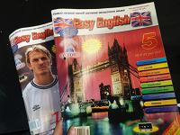 Отдается в дар Easy english. Обучение английскому журналы + кассеты