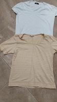 Отдается в дар Две женские футболки размер 48-50