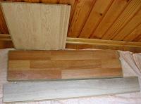 Отдается в дар ламинат, деревянные планки на хм