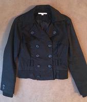 Отдается в дар Куртка-пиджак черная, р-р: S