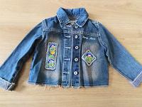 Отдается в дар Курточка джинсовая 104