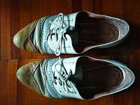 Отдается в дар Туфли осенние 37 размер
