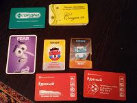 Отдается в дар Пластиковые карты и карточки в коллекцию