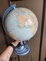 Отдается в дар Глобус светильник