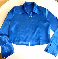 Отдается в дар Женская блузка на молнии. Размер 46