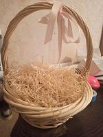 Отдается в дар Корзинка плетёная декоративная