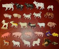 Отдается в дар Маленькие фигурки домашних животных (не киндеры)