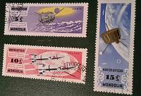 Отдается в дар Монголия.1964.Исследование космоса