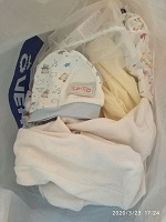 Отдается в дар Пакет вещей новорожденному 0-3 месяца