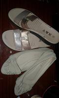 Отдается в дар жіноче літнє взуття