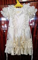 Отдается в дар Атласное платьице на девочку