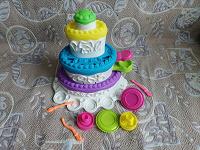 Отдается в дар Для детей Плей До — набор Праздничный Торт