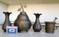 Отдается в дар Латунные (или медные) индийские вазочки