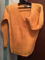 Отдается в дар Пуловер свитер х/б с пятном