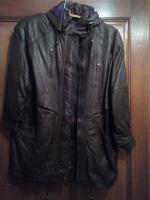 Отдается в дар Кожаная куртка женская 52