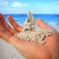 Отдается в дар Песочница и кинетический песок