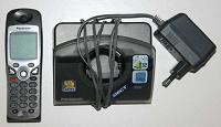 Отдается в дар Радиотелефон Panasonic KX-TCD500RU неисправный