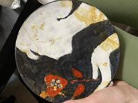 Отдается в дар Тарелка керамическая на стену