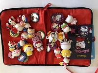 Отдается в дар Коллекция фигурок Hello Kitty