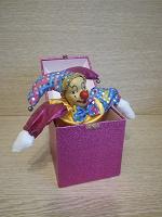 Отдается в дар Клоун из коробочки