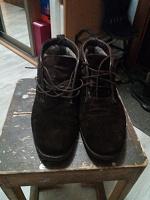 Отдается в дар Ботинки мужские замшевые 41 размера