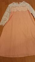 Отдается в дар Платье цвета персик 48раз.