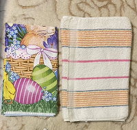 Отдается в дар Два небольших полотенца