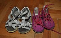 Отдается в дар 2 пары обуви на девочку