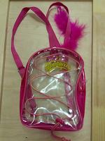 Отдается в дар Пластиковый рюкзачок для девочки