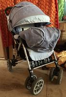 Приму в дар детскую коляску