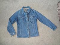 Отдается в дар Джинсовая куртка 42-44