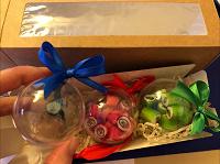 Отдается в дар Леденцы в новогодних шариках