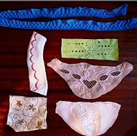 Отдается в дар Нашивки для декорирования одежды