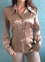 Отдается в дар Серая блуза по фигуре