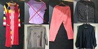 Отдается в дар Пакет женской одежды на размер L