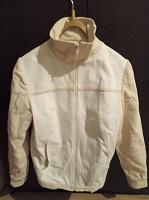 Отдается в дар Куртка джинсовая белая