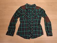 Отдается в дар Клетчатая женская рубашка новая, размер 40