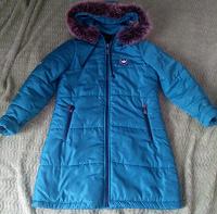 Отдается в дар Зимнее пальто для девочки 134-140 см