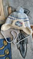 Отдается в дар Зимняя шапочка для мальчика до годика