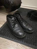 Отдается в дар Кожаные зимние ботинки 43