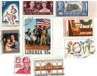 Отдается в дар Американские марки