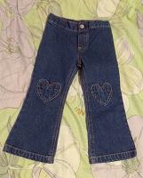 Отдается в дар джинсы на девочку