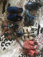 Отдается в дар Детская обувь для малышей