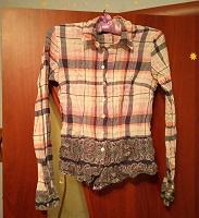 Отдается в дар Женская рубашка XS