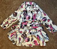 Отдается в дар Куртка-плащ девочке
