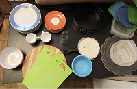 Отдается в дар Очень много посуды