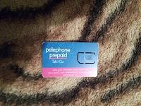 Отдается в дар сим-карта компании «Пелефон» (Израиль)