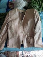 Отдается в дар Кожаный пиджачок